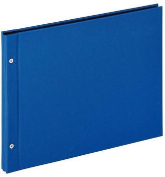 walther design Schraubalbum Lino 39x31/40 blau