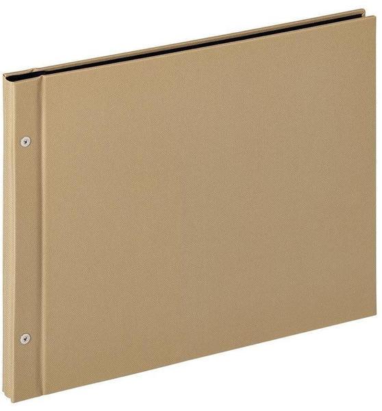 walther design Schraubalbum Lino 39x31/40 sand
