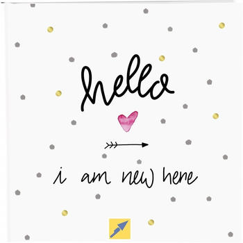 Goldbuch Babyalbum Hello i am new here 25x25/60