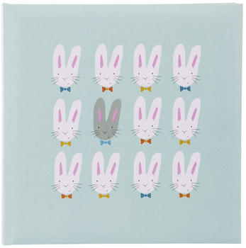goldbuch-babyalbum-cute-bunnies-25x25-60-blau
