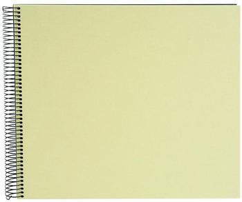 Goldbuch Spiralalbum Bella Vista 34x30/40 lindgrün (schwarze Seiten)