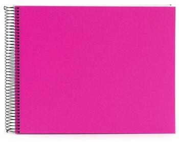 Goldbuch Spiralalbum Bella Vista 34x30/40 pink (weiße Seiten)