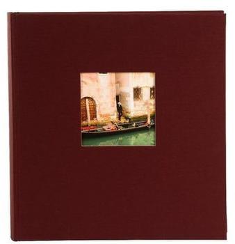 Goldbuch Fotoalbum Bella Vista 30x31/100 bordeaux