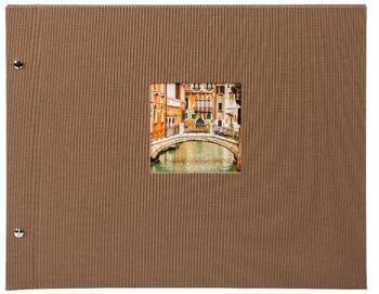 Goldbuch Schraubalbum Bella Vista 30x25/40 coffee (schwarze Seiten)