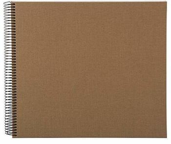 Goldbuch Spiralalbum Bella Vista 34x30/40 coffee (weiße Seiten)