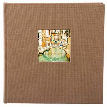 Goldbuch Fotoalbum Bella Vista 30x31/60 coffee (schwarze Seiten)