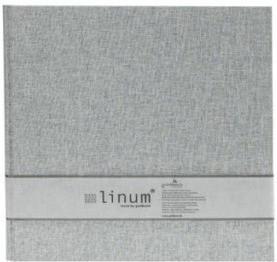 Goldbuch Einsteckalbum Linum 10x15/200 grau