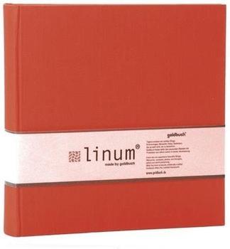 Goldbuch Einsteckalbum Linum 10x15/200 rot