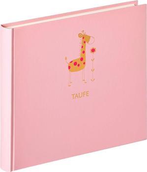 walther design Taufalbum Baby Animal 28x25/50 rosa