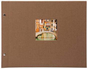 Goldbuch Schraubalbum Bella Vista 30x25/40 coffee (weiße Seiten)