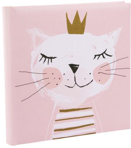 Goldbuch Babyalbum Fortuna 25x25/60 rosa