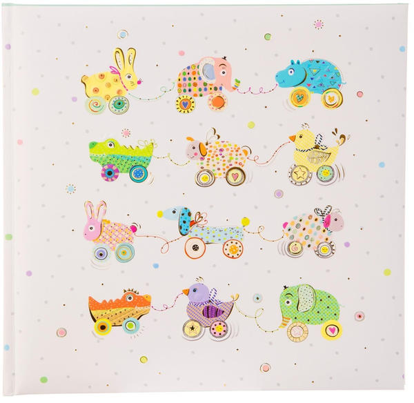 Goldbuch Babyalbum Animals on Wheels 25x25/60