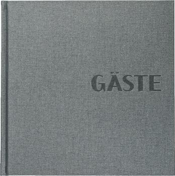 Brunnen Gästebuch Metallico 25x25/100