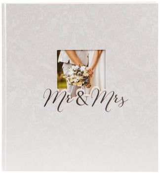 Goldbuch Hochzeitsalbum Mr & Mrs 30x31/60