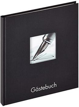walther design Gästebuch Fun 23x25/72 schwarz