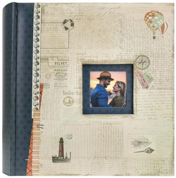 ZEP Memo-Album Mumbai 13x18/200 blau