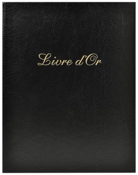 Exacompta Gästebuch Livre d'Or 27x22/100 schwarz
