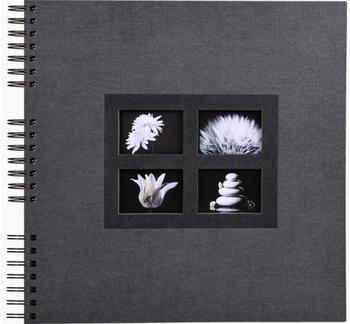 Exacompta Spiralalbum Passion 32x32/60 schwarz