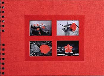 Exacompta Spiralalbum Passion 32x22/50 rot