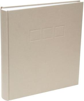 Deknudt Klebealbum Leinen 30x33/100 beige