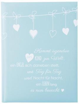 Goldbuch Babytagebuch Poetry 21x28/44 blau