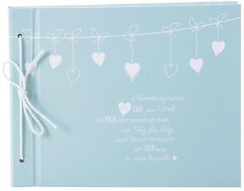 Goldbuch Babyalbum Poetry 23x29/40 blau