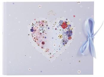 Goldbuch Gästebuch Hearts of Flowers 29x23/50