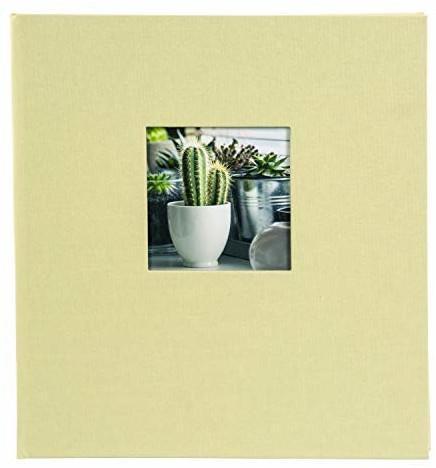 Goldbuch Fotoalbum Bella Vista 30x31/60 lindgrün (schwarze Seiten)
