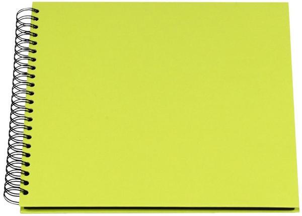 Rössler Papier Fotospiralbuch Soho 29x29/60 limette