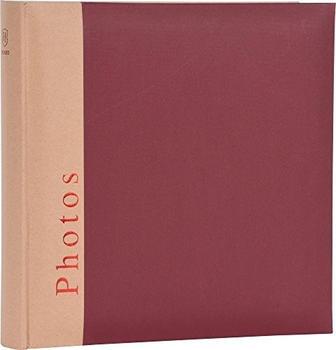 Henzo Fotoalbum Chapter 30x30/100 weinrot