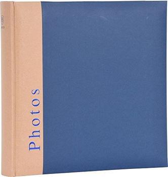 Henzo Fotoalbum Chapter 30x30/100 blau