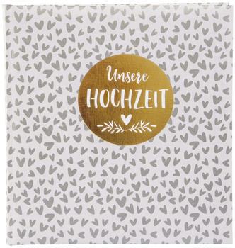 Goldbuch Hochzeitsalbum 1000 Hearts 30x31/60
