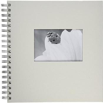 PAGNA Spiralalbum Passepartout 24x25/50 weiß