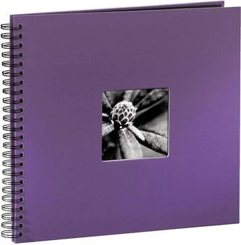 Hama Spiralalbum Fine Art 36x32/50 lila (schwarze Seiten)