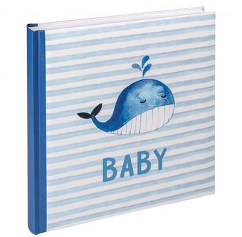 walther design Babyalbum Sam 28x30,5/50 blau