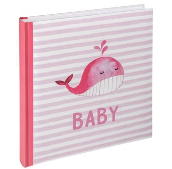 walther design Babyalbum Sam 28x30,5/50 rosa
