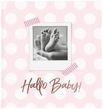 Goldbuch Babyalbum Hallo Baby 30x31/60 rosa