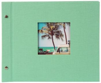 Goldbuch Schraubalbum Bella Vista neo-mint 30x25/40 (schwarze Seiten)