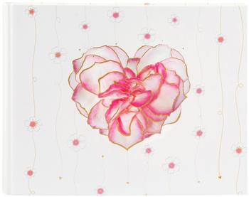 Goldbuch Gästebuch Scent of Roses mit verdeckter Spirale 29x23/50