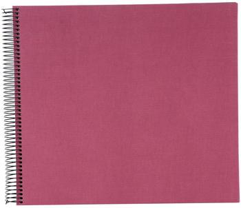 Goldbuch Spiralalbum Bella Vista 34x30/40 fuchsia (schwarze Seiten)