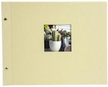 Goldbuch Schraubalbum Bella Vista 39x31/40 lindgrün (schwarz)