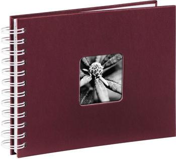 Hama Spiralalbum Fine Art 24x17/50 bordeaux (weiße Seiten)