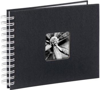 Hama Spiralalbum Fine Art 24x17/50 schwarz (weiße Seiten)