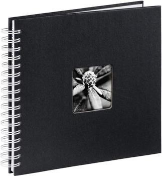 Hama Spiralalbum Fine Art 28x24/50 schwarz (weiße Seiten)