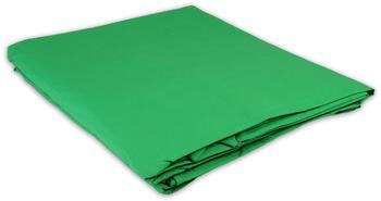 Helios Stoffhintergrund Uni 300x700cm grün
