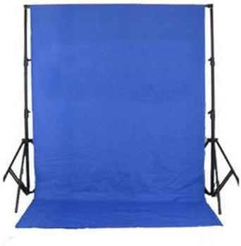 Bresser BR-D24 Hintergrundsystem + Tuch 2,5x3m blau