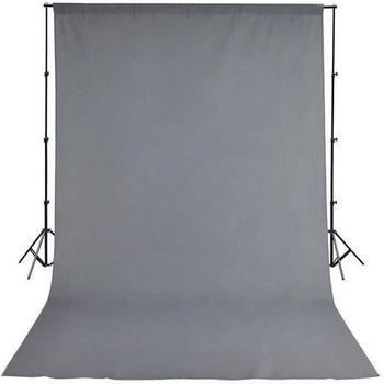 Bresser BR-D24 Hintergrundsystem + Hintergrundtuch 2,5x3m grau