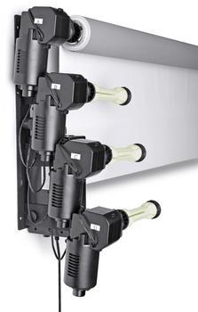 Bresser MB-6Y Elektrische Wandhalterung für 6 Hintergrundrollen