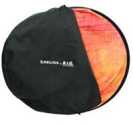 Helios Falthintergrund 150x200cm rot gewolkt
