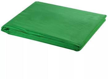 VidaXL Fotohintergrund 300 x 300 cm chroma-key grün